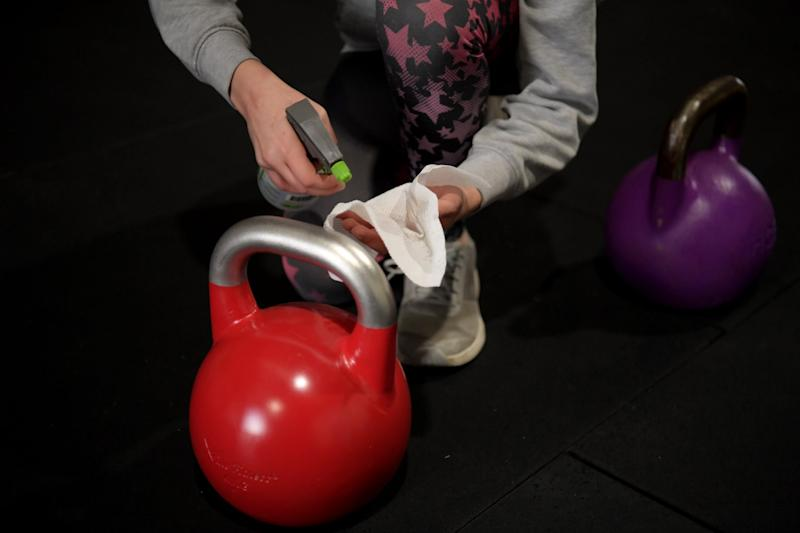 Gyms will put in place strict cleaning rules (Getty Images)