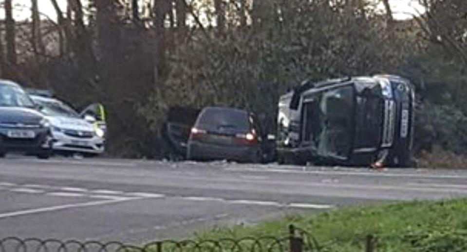 <em>The Duke of Edinburgh has been involved in a road traffic accident close to the Sandringham Estate (Picture: KLFM 96.7)</em>