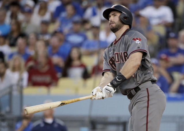 Paul Goldschmidt helped lead the Diamondbacks to the playoffs in 2017. (AP Photo)