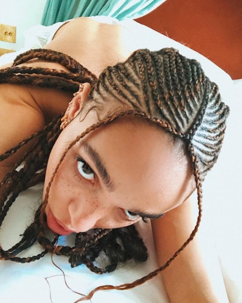 Ahead of Afropunk, FKA Twigs Shows Off a Set of Intricate New Braids