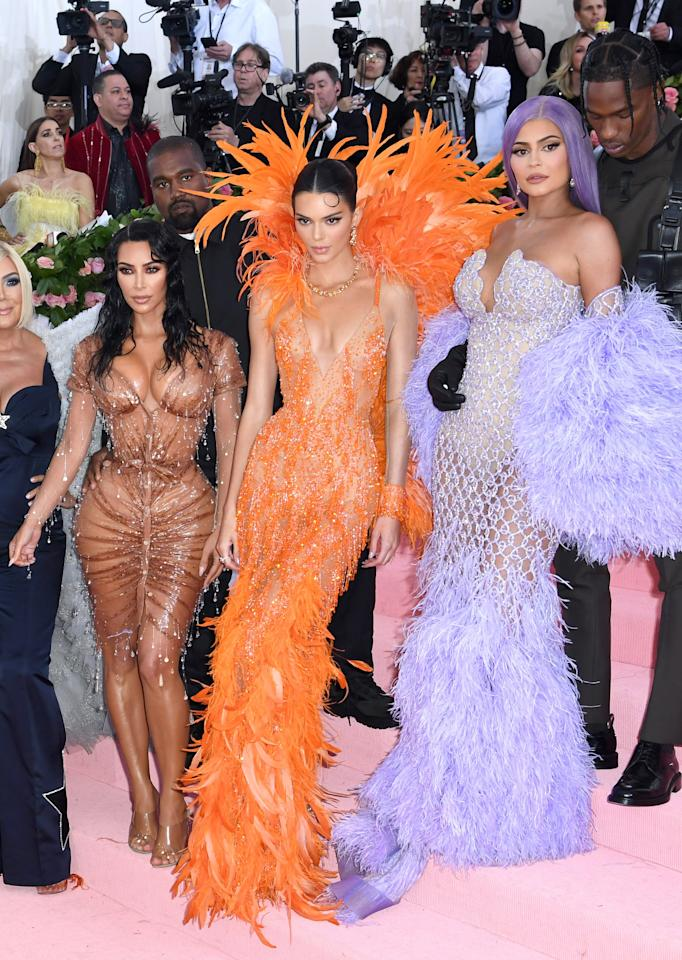 """<ul> <li>""""Most people see [their families] on holidays. <a href=""""http://www.harpersbazaar.com/culture/features/a16006/khloe-kardashian-interview/"""" target=""""_blank"""" class=""""ga-track"""" data-ga-category=""""Related"""" data-ga-label=""""http://www.harpersbazaar.com/culture/features/a16006/khloe-kardashian-interview/"""" data-ga-action=""""In-Line Links"""">We see each other every single day</a> because it's part of our job. I love that, I really do. Our show has brought us closer together and I'm able to witness moments I never would if we all had jobs in our individual spaces."""" - Khloe in <strong>Harper's Bazaar</strong> in 2016</li> <li>""""I don't think of it as 'The Kardashians' in quotes. I think of it as my family. It's probably hard for anyone else to understand that, but <a href=""""http://www.harpersbazaar.com/culture/features/a21975/kendall-jenner-interview/"""" target=""""_blank"""" class=""""ga-track"""" data-ga-category=""""Related"""" data-ga-label=""""http://www.harpersbazaar.com/culture/features/a21975/kendall-jenner-interview/"""" data-ga-action=""""In-Line Links"""">it's so normal for me</a>."""" - Kendall in <strong>Harper's Bazaar </strong>in August 2017 </li> <li>""""If I could go back in time, I would go back to watch my dad win the Olympics,"""" she says. """"It's a huge part of her life, and I didn't get to be a part of it."""" - Kendall in <strong>Harper's Bazaar </strong>in August 2017 </li> <li> """"<a href=""""http://www.allure.com/story/kylie-jenner-allure-august-2016-interview"""" target=""""_blank"""" class=""""ga-track"""" data-ga-category=""""Related"""" data-ga-label=""""http://www.allure.com/story/kylie-jenner-allure-august-2016-interview"""" data-ga-action=""""In-Line Links"""">I just told Caitlyn</a>, 'You should do what you want in your life.' I'm just happy that she can live her life as herself now. A lot of young transgender people look up to [her], and she's doing a lot [to educate people] around the world. All she cares about is helping other people who are going through the same thing."""" - Kylie to <strong>Allure</strong> in August 2016</l"""