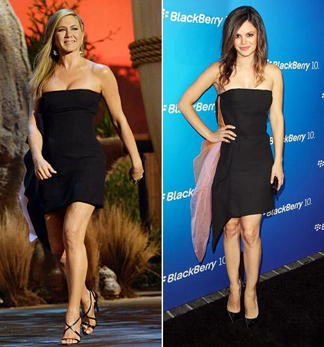 Who Wore It Best: Jennifer Aniston vs. Rachel Bilson?