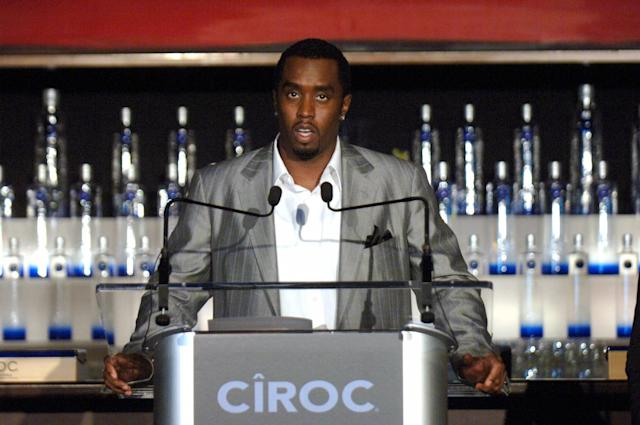 <p>What exactly is Sean 'Diddy' Combs not involved in? Back in 2007, the rapper-businessman took over U.S. marketing and promotion for CÎROC vodka in a nearly $100 million deal, with the proceeds from sales being split equally between partner British Diageo. The high-end, grape-distilled spirit is manufactured in France. (Canadian Press) </p>