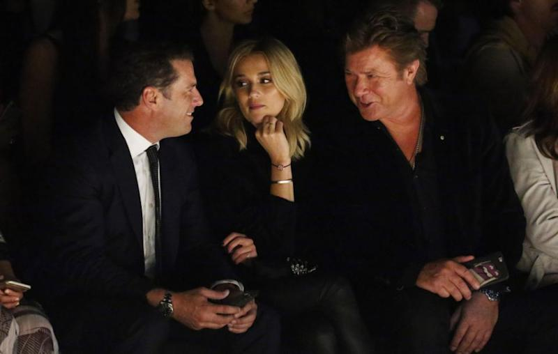 Entertainment reporter Richard Wilkins is quite close to the pair, and would make a popular choice for MC. Source: Getty