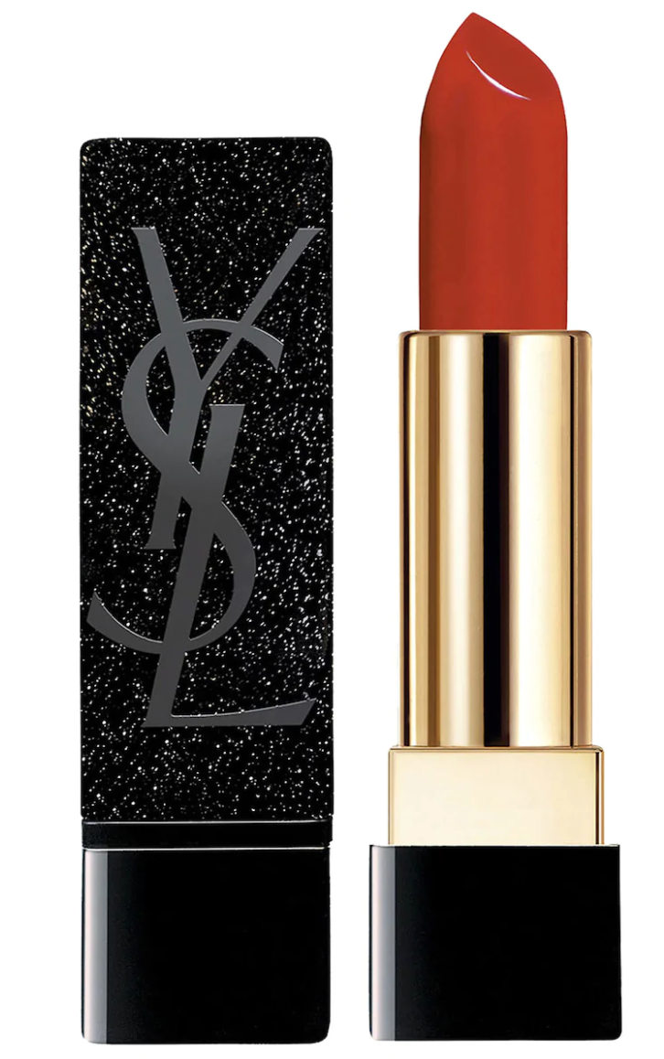 Yves Saint Laurent Zoe Kravitz Rouge Pur Couture Lipstick in Scout's Red