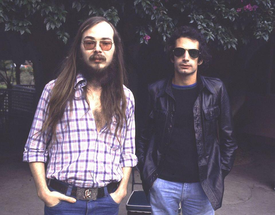 """<p>Nine years of hits, including """"Do It Again"""" and """"Deacon Blues,"""" ended with heartbreak. The rock duo, Walter Beck and Donald Fagen, <a href=""""https://bestclassicbands.com/steely-dan-disband-6-21-15/"""" rel=""""nofollow noopener"""" target=""""_blank"""" data-ylk=""""slk:announced their split"""" class=""""link rapid-noclick-resp"""">announced their split</a> on Father's Day in 1981. (Luckily, the band reunited in 1993.) </p>"""