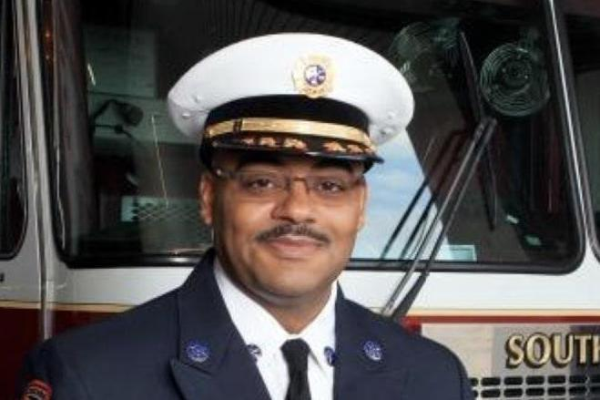 Head of Southfield Fire Department Johnny Menifee (Southfield Fire Department)