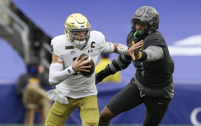 Notre Dame Runs With It At Quarterback