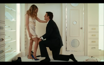 <p>What girl doesn't want to be proposed to with a pair of Manolo Blahniks? Men, take note: Mr. Big reproposed and reconciled with Carrie Bradshaw in the closet he built for her <em>and </em>with her dream shoes. Excuse me, as I swoon. </p>