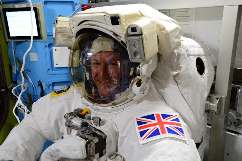 Tim Peake is the first British astronaut to fly to the International Space Station (AFP Photo/Tim Peake)