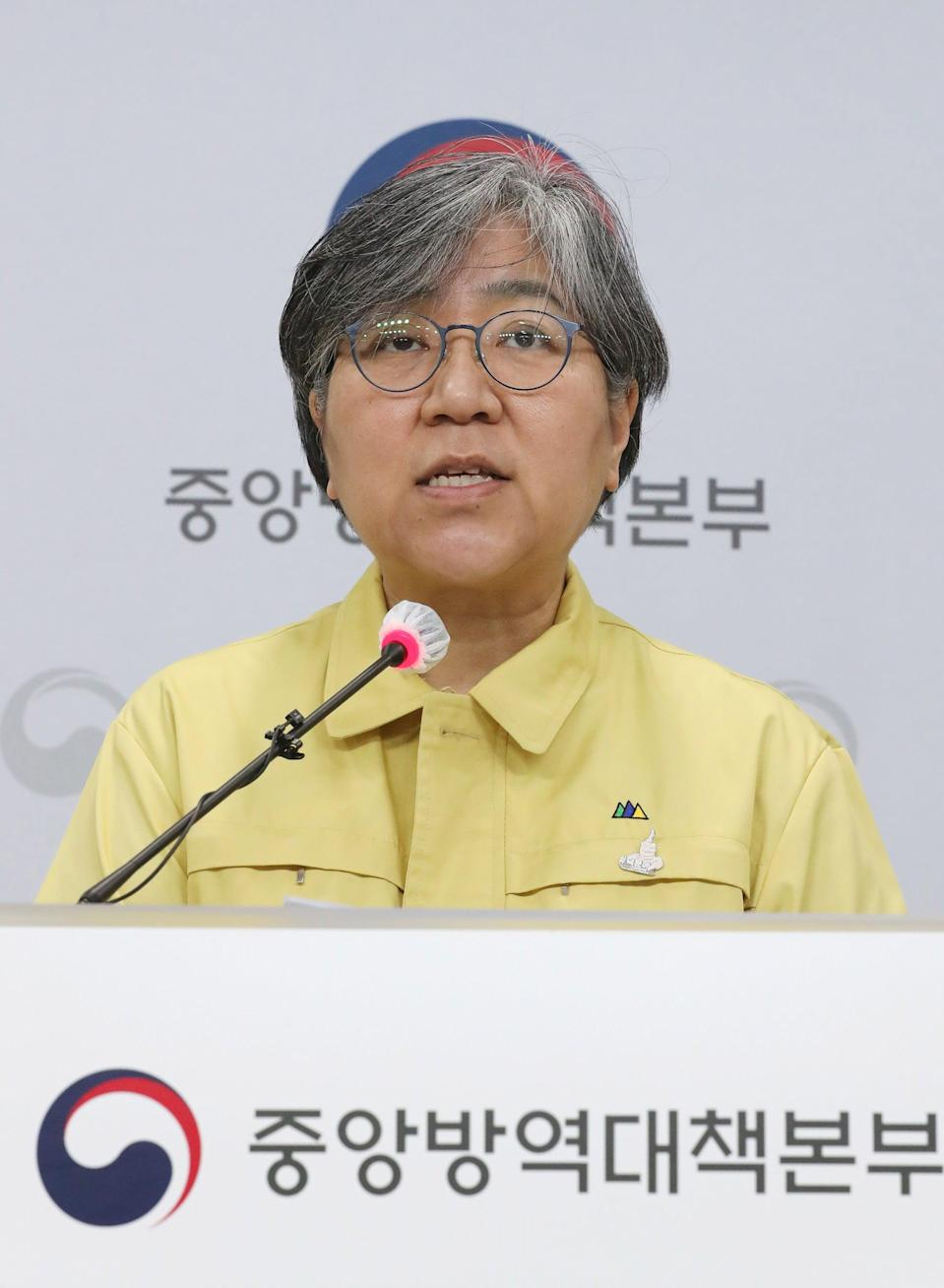 "<h2>Dr Jeong Eun-kyeong, South Korea<br></h2><br>Dr Jeong Eun-kyeong is commissioner of the Korea Disease Control and Prevention Agency (KDCA) in South Korea. She has been described as a ""virus-hunter"" for the way she has led her country's response to the pandemic, holding daily briefings to release transparent updates on the number of <a href=""https://time.com/5800901/coronavirus-map/"" rel=""nofollow noopener"" target=""_blank"" data-ylk=""slk:confirmed cases"" class=""link rapid-noclick-resp"">confirmed cases</a>, the origins of infections and the latest figures on tests, quarantine and treatment. As a result, South Korea is seen as a global leader in its response to the pandemic: so far the country has recorded 91,240 cases of COVID-19, with only 1,619 deaths.<span class=""copyright"">Photo Courtesy of YONHAP/EPA-EFE/Shutterstock.</span>"