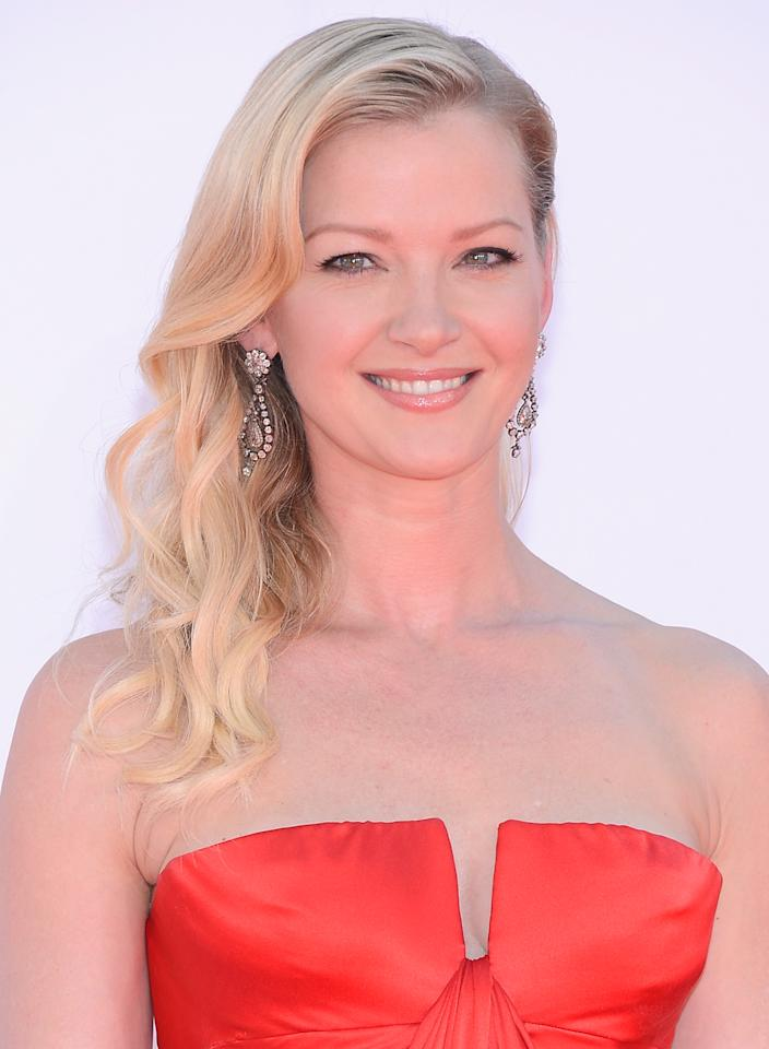 LOS ANGELES, CA - SEPTEMBER 23:  Actress Gretchen Mol arrives at the 64th Annual Primetime Emmy Awards at Nokia Theatre L.A. Live on September 23, 2012 in Los Angeles, California.  (Photo by Kevork Djansezian/Getty Images)