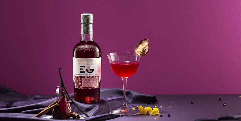 Edinburgh Gin's new Poached Pear gin liqueur sounds perfect for Christmas