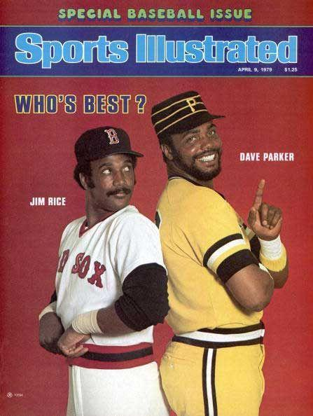 """<p><strong>July 17, 1979</strong>: The 1979 All-Star Game was tied in the bottom of the eighth inning. The Angels' Brian Downing represented the go-ahead run on second base, and headed for home when the Yankees' Greg Nettles roped a single to right field. In one swift, fluid motion, Pirates right fielder Dave Parker scooped up the ball and fired it home. The throw arrived at the same time as Downing, but was so perfectly placed that catcher Gary Carter didn't have to move to apply the tag. """"To watch a guy do what seemed to me impossible, and make that throw to a guy without him having to move is amazing,"""" said Puerzer. """"Skill, beauty, everything.""""<br> </p>"""