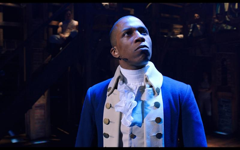 Leslie Odom Jr as Aaron Burr