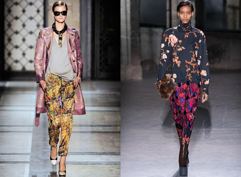 Dries Van Noten Spring 2010; Dries Van Noten Fall 2019
