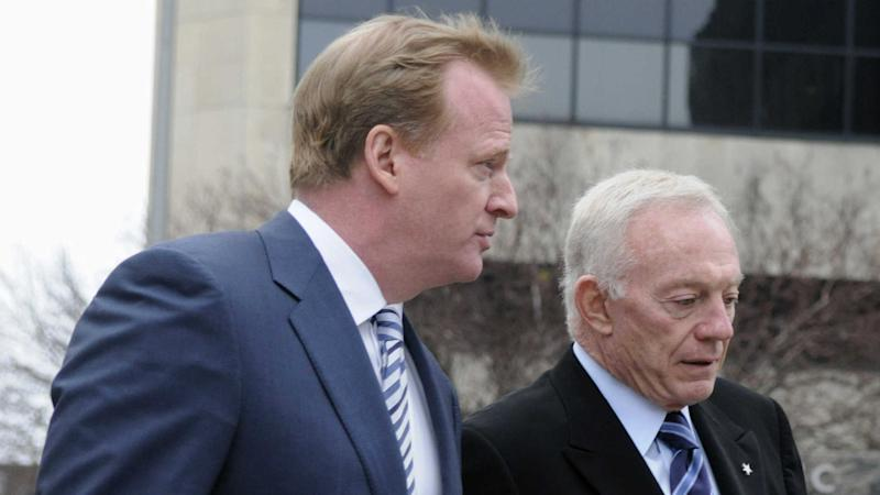 Jerry Jones, Roger Goodell meet to discuss disputed legal fees, report says