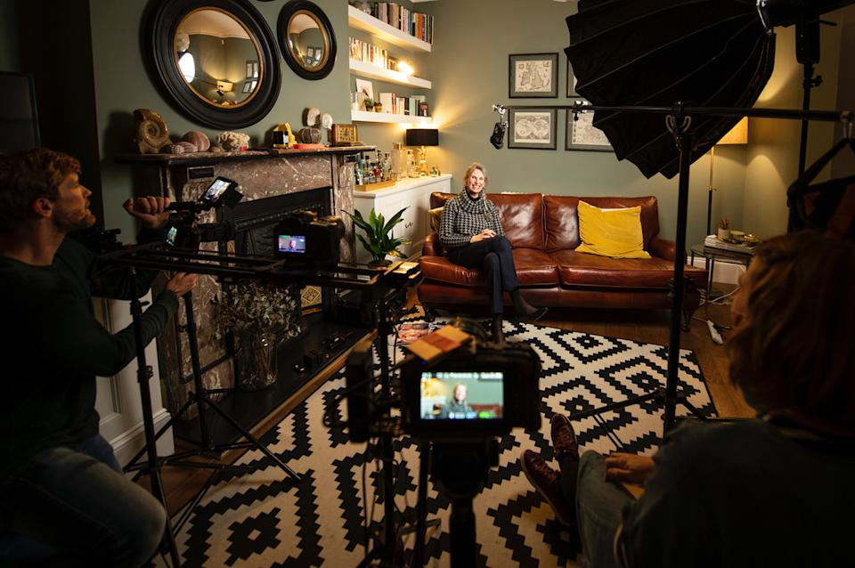 The company IlluminateStories.com allows people to create videos for their loved ones. (John Nguyen/JNVisuals)