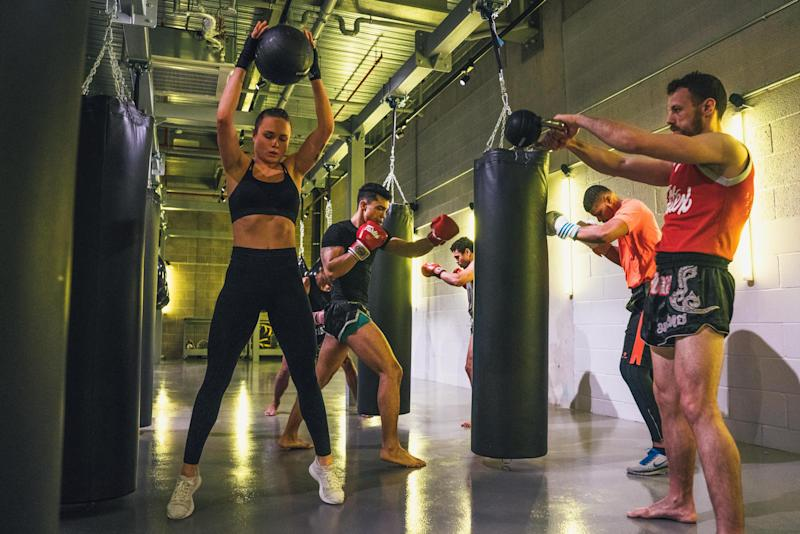Boxing in action at Gymbox