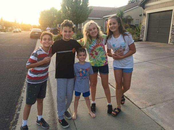 PHOTO: Logan Hultman, 10 and his buddies canvassed the area and called the Roseville Police Department after tracking down Glenneta Belford two hours after the woman was reported missing. (Alyssa Hultman)