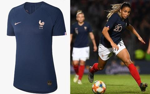 France home kit, 2019 Women's World Cup - Credit: NIKE