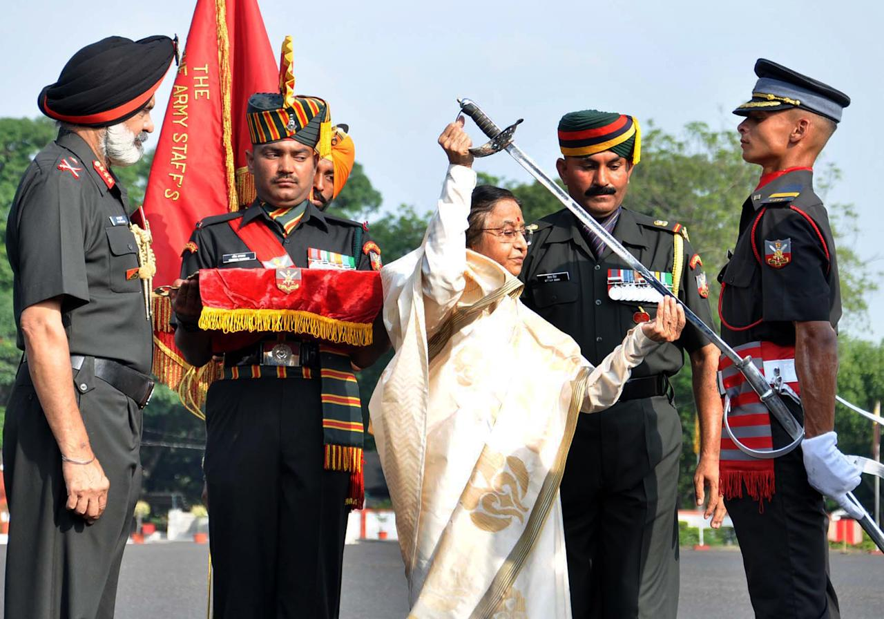 The President is the Commander-in-Chief of the Indian Armed Forcers
