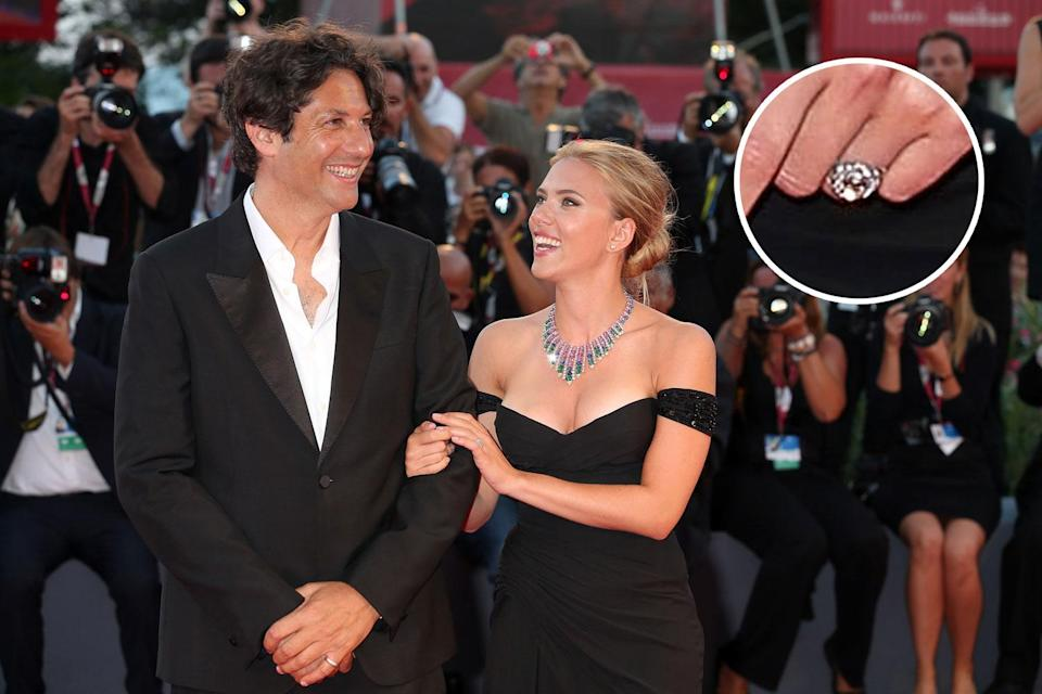 Romain Dauriac and Scarlett Johansson were married for just three years. (Photo: Getty Images)