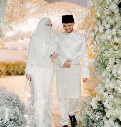 Neelofa and PU Riz tied the knot in March.