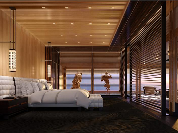 Sinot AQUA_OWNER'S PAVILION_BEDROOM