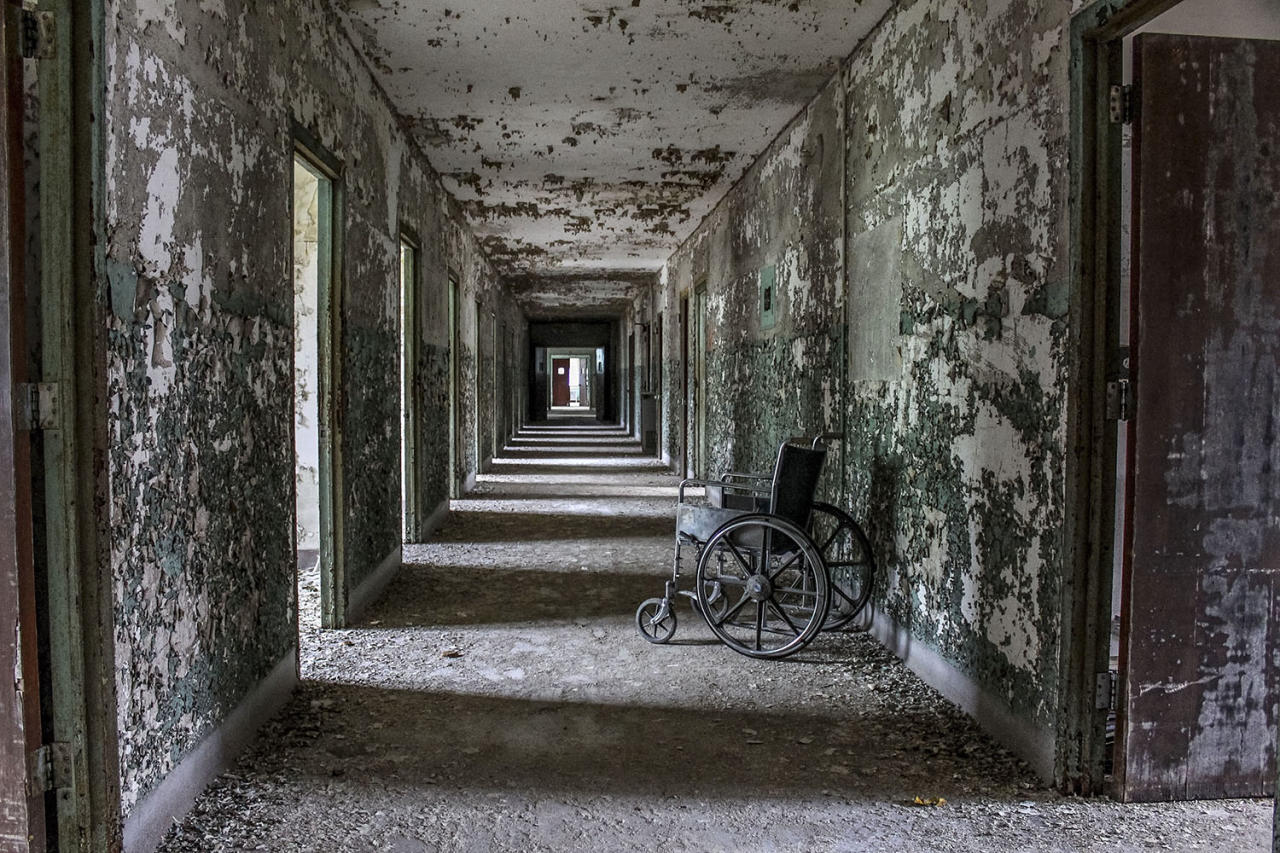 <p>The asylum, Western State Mental Hospital, in Tennessee, was one of the last to be built in the area and became the least funded. (Caters News) </p>
