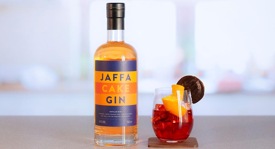 Jaffa Cake Gin is here to sweeten up your evening aperitif. (Atom Brands)