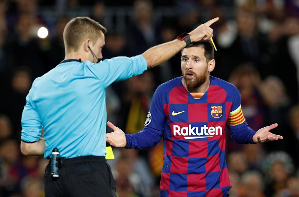 If Lionel Messi ever comes to MLS, it's almost certainly not going to be this year. (REUTERS/Albert Gea)