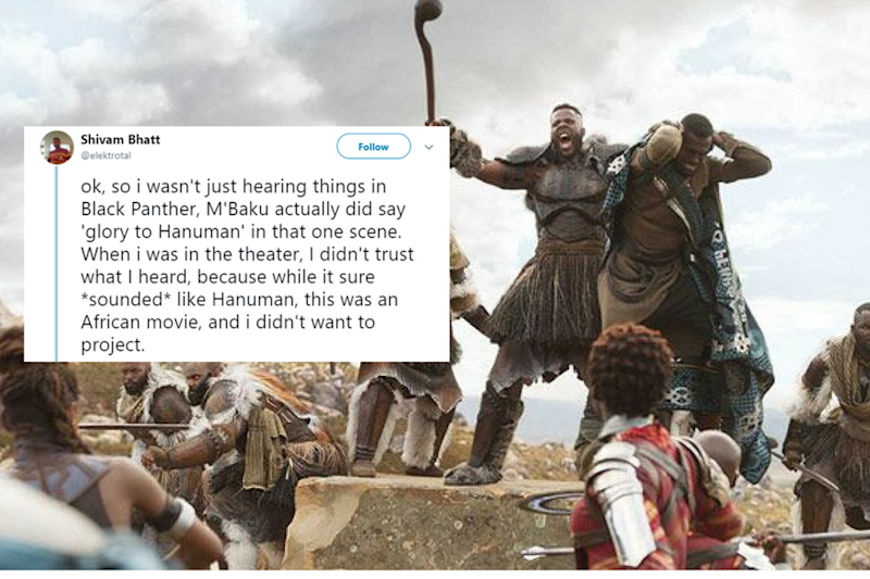 Infamous for its senseless cuts, the censor board bleeped out a reference to Lord Hanuman in the record-breaking superhero flick 'Black Panther'.