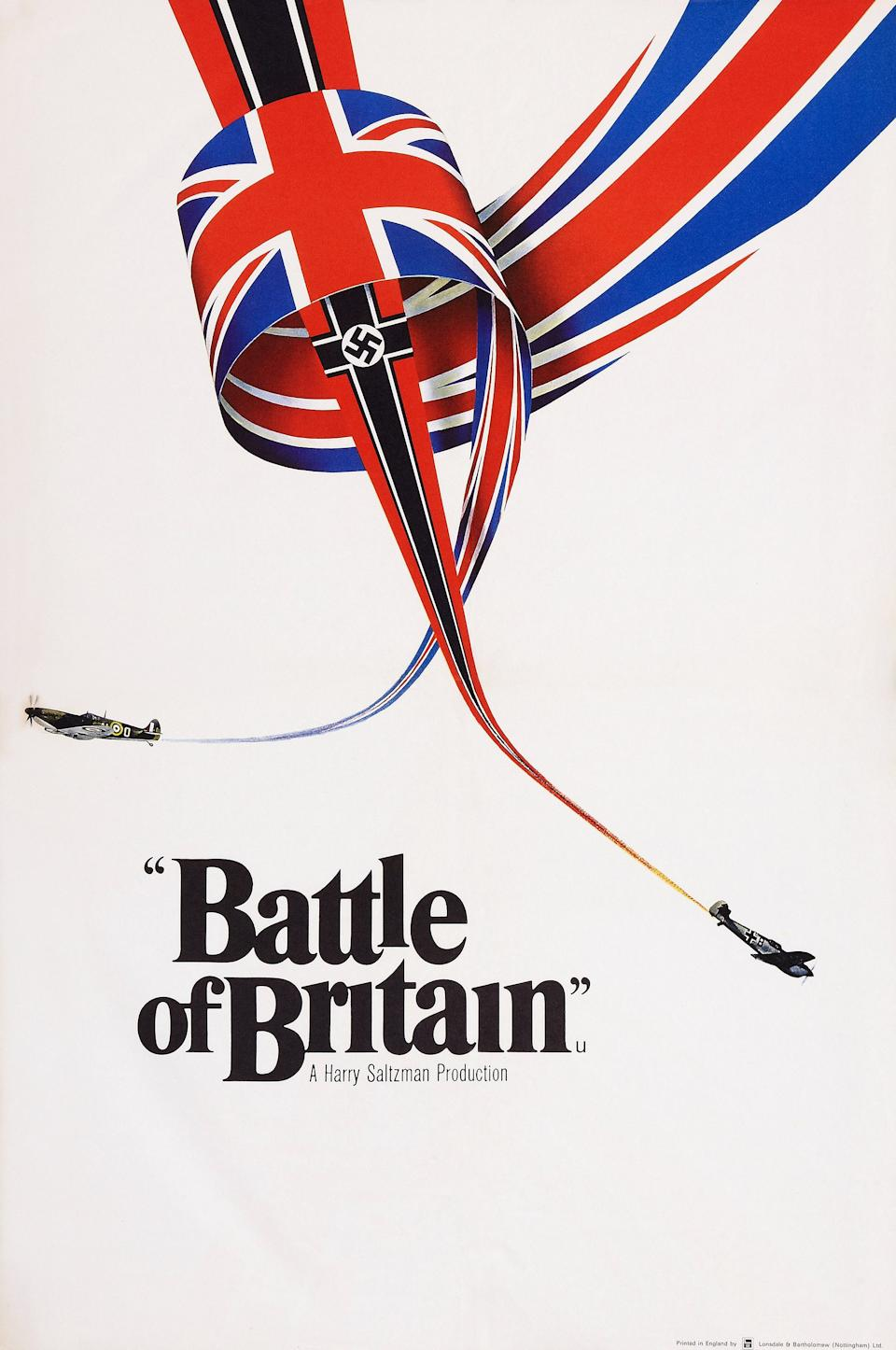 Battle Of Britain, poster, British poster art, 1969. (Photo by LMPC via Getty Images)