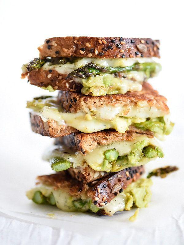 """<strong>Get the <a href=""""http://www.foodiecrush.com/spicy-smashed-avocado-asparagus-with-dill-havarti-grilled-cheese/"""" rel=""""nofollow noopener"""" target=""""_blank"""" data-ylk=""""slk:Spicy Smashed Avocado Asparagus Havarti Grilled Cheese recipe"""" class=""""link rapid-noclick-resp"""">Spicy Smashed Avocado Asparagus Havarti Grilled Cheese recipe</a>&nbsp;from Foodie Crush</strong>"""