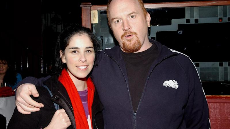 Sarah Silverman Emotionally Addresses Close Friend Louis C.K.'s Sexual Harassment Scandal