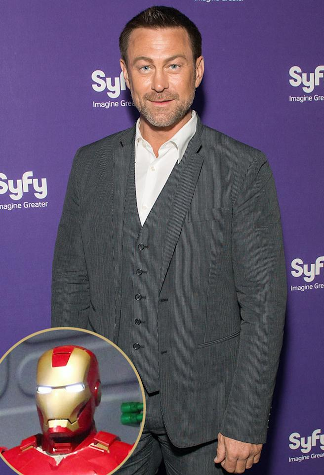 "<strong>Grant Bowler (""Defiance""):</strong> Iron Man, because he's actually a man. I believe the machinery. He's a really awesome, deeply flawed character. I love my characters flawed."