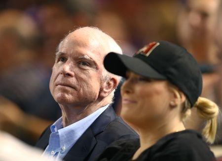 McCain completes first round of cancer treatment