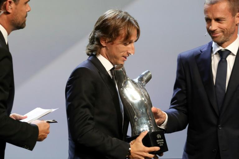 Modric was named UEFA's men's player of the year in August