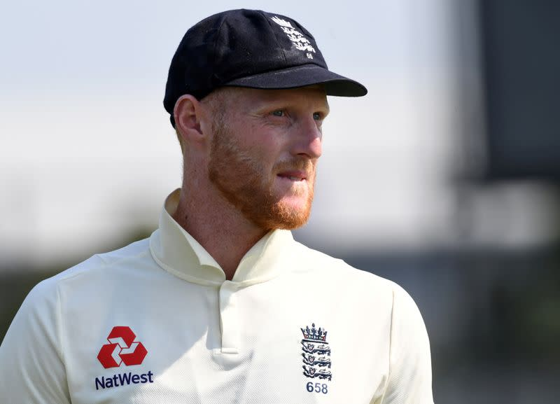 Stokes trains ahead of test, but three players sit out