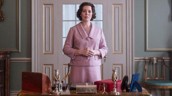 Olivia Colman plays Her Majesty in the third series of The Crown [Netflix]