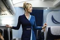 """<p><strong>Release date: 2022 on Sky and NOW</strong></p><p>Kaley Cuoco's brilliant turn as flight attendant Cassie, whose life gets turned upside down after she wakes up in a hotel room with a dead man and no memory, earned her a Golden Globe nomination. So we're beyond thrilled that the tense Sky thriller is coming back for a second season, this time set in sunny California.</p><p>Although no word on when filming will begin, we imagine it will be released in the UK in early 2022 at the latest, at a similar time of year to its season one premiere. Star Cuoco recently teased plot lines for the upcoming series, recently revealing to <a href=""""https://variety.com/2021/tv/awards/kaley-cuoco-big-bang-theory-reunion-flight-attendant-season-2-1235035715/"""" rel=""""nofollow noopener"""" target=""""_blank"""" data-ylk=""""slk:Variety"""" class=""""link rapid-noclick-resp"""">Variety </a>that season 2 will see Cassie grappling with her new sober life and plunging headfirst into drama in her new role as a CIA asset. </p>"""