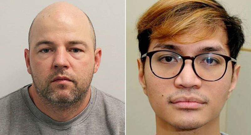 Joseph McCann (L) and Reynhard Sinaga could spend the rest of their lives in jail (Picture: PA)