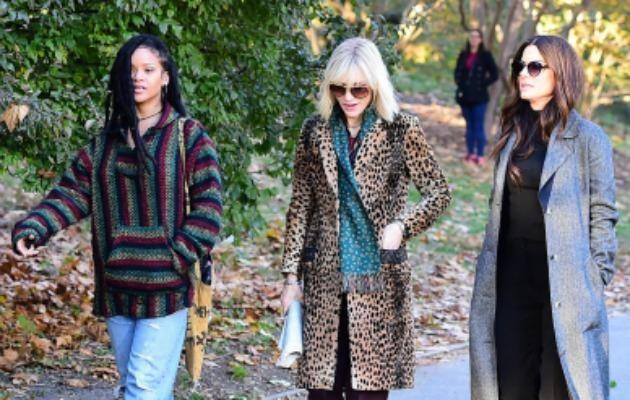 Sandra Bullock, Cate Blanchett and Rihanna are set to star in Ocean's 8 this year. Source: Getty