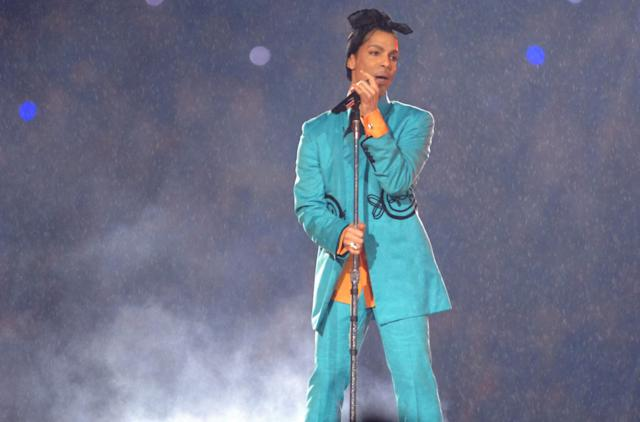 2007: Prince. (Photo by Jeff Kravitz/FilmMagic, Inc)