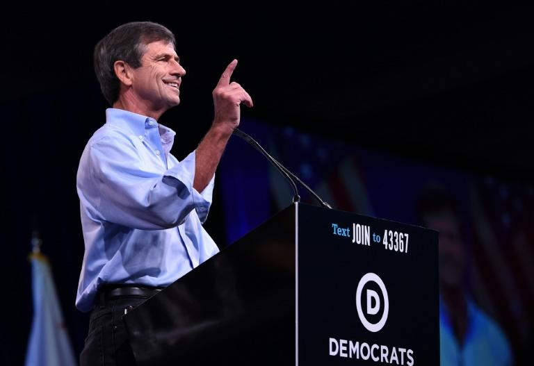 The campaign of former US congressman representing Pennsylvania Joe Sestak, pictured here in August 2019, had not won much support