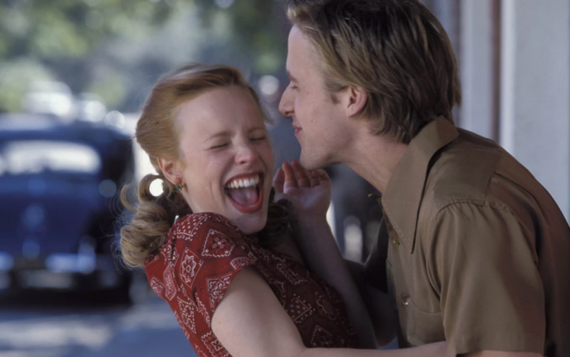 """<p>Noah Calhoun (Ryan Gosling) and Allie (Rachel McAdams) are <em>obviously </em>meant to be—but Allie's strict mother disapproves. Her actions send their summer love reeling off course. But love finds a way back in this iconic Nicholas Sparks adaptation. <br></p><p><a class=""""link rapid-noclick-resp"""" href=""""https://www.amazon.com/Notebook-Ryan-Gosling/dp/B000YMFCS4?tag=syn-yahoo-20&ascsubtag=%5Bartid%7C10072.g.33383086%5Bsrc%7Cyahoo-us"""" rel=""""nofollow noopener"""" target=""""_blank"""" data-ylk=""""slk:Watch Now"""">Watch Now</a></p>"""