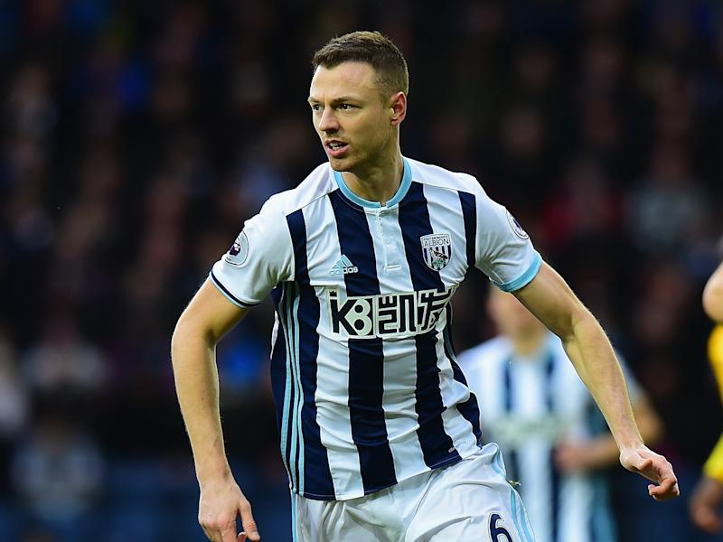 Jonny Evans is enjoying some of his best football at the Hawthorns this season: Getty