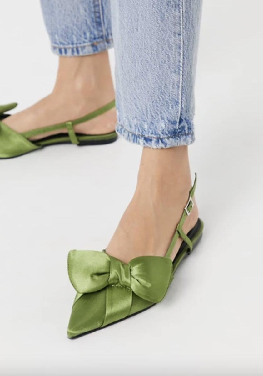 <p>These <span>ASOS Liliana Slingback Ballet Flats</span> ($25, originally $35) look so stylish and luxe, they are a perfect choice for evening dates.</p>