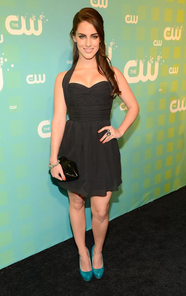 "Jessica Lowndes (""90210"") attends The CW's 2012 Upfronts on May 17, 2012 in New York City."